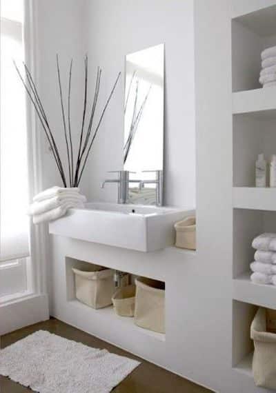 nicchie pareti bagno piccolo