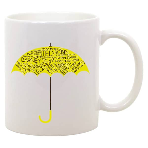 Tazza how i met your mother frasi