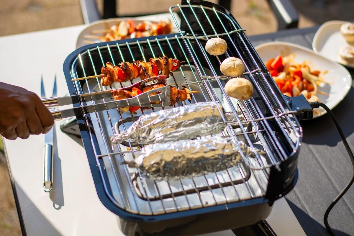 barbecue da giardino elettrico