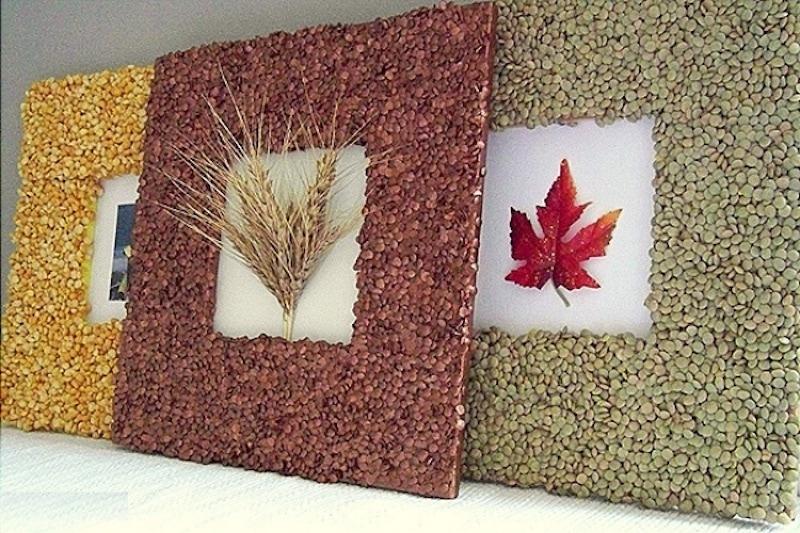 cornice fai da te cereali