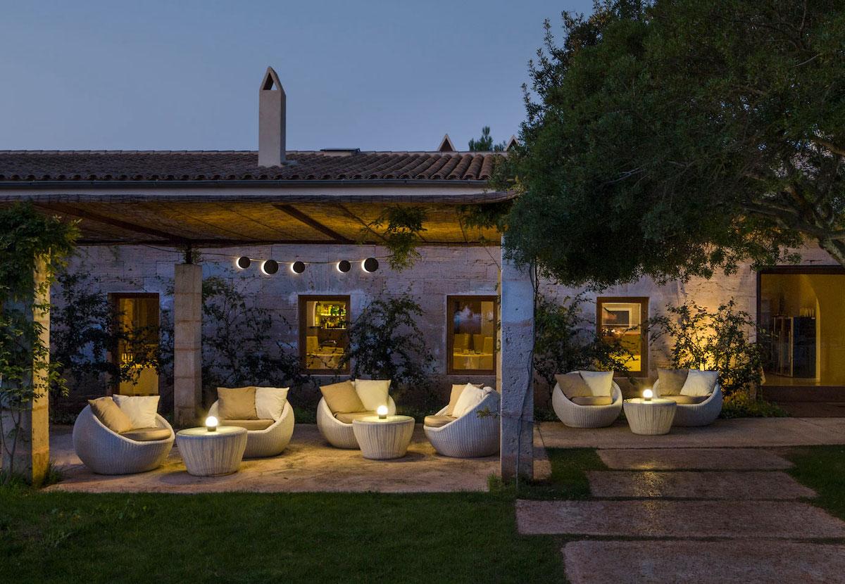 lampade da soffitto giardino