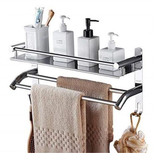mensole doccia acciaio
