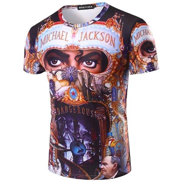 Michael Jackson Dangerous t-shirt