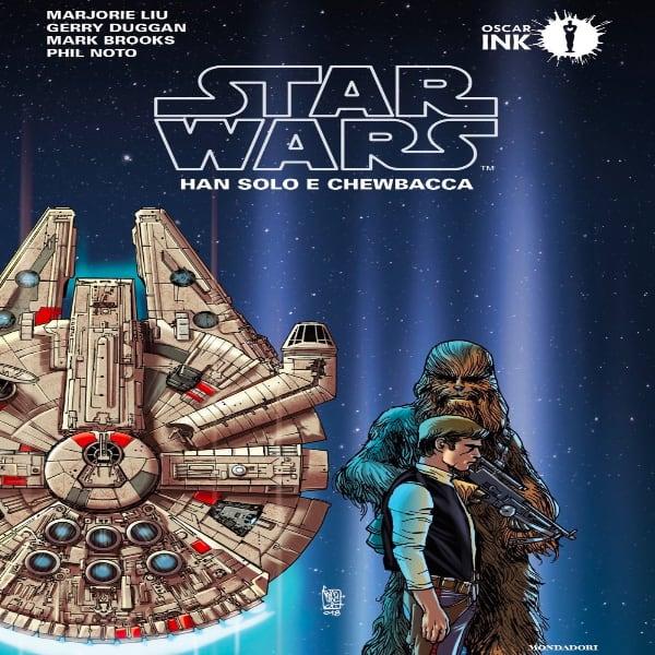 Star Wars Fumetto Han Solo e Chewbacca