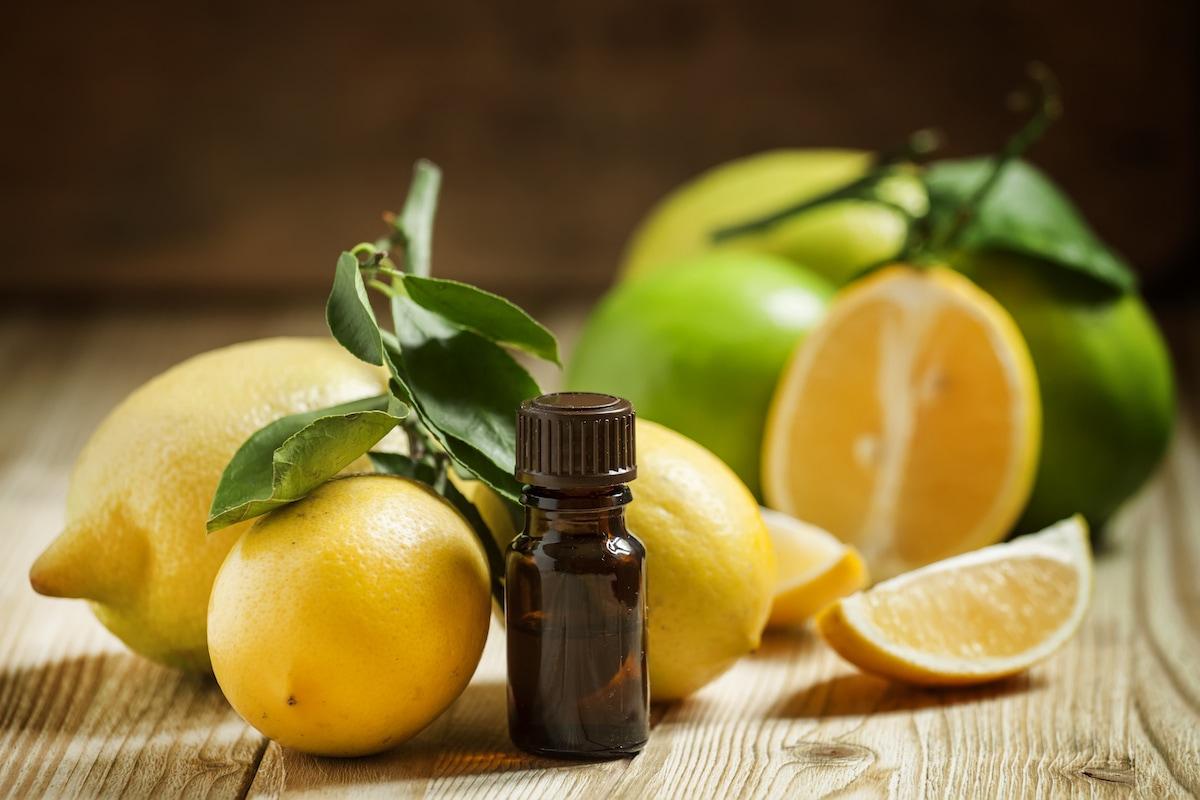 benefici olio di limone