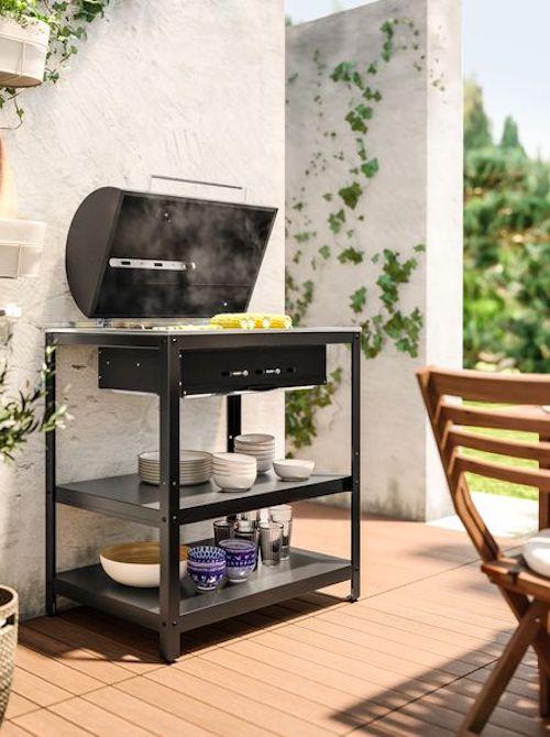 barbecue terrazzo piccolo