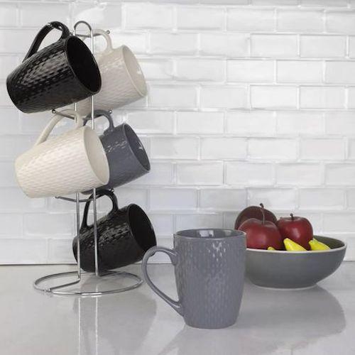 dispensa organizer tazzine caffè