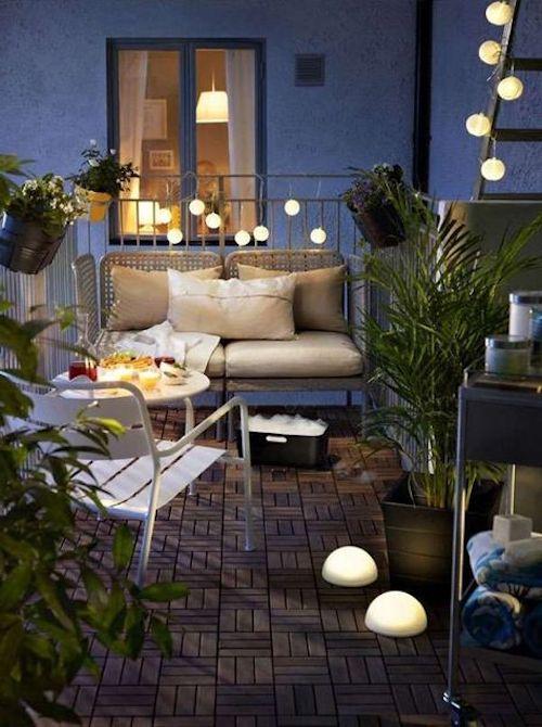 illuminazione terrazzo piccolo