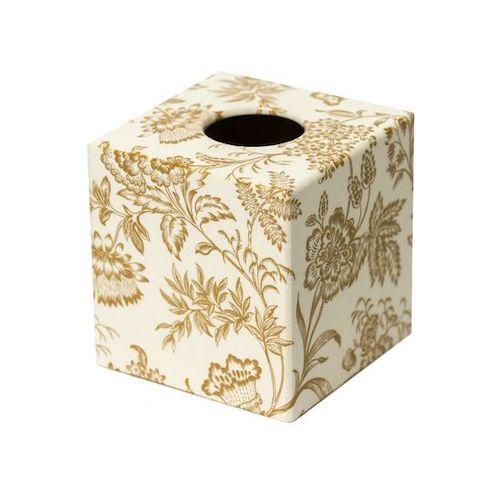 scatola decorata con carta