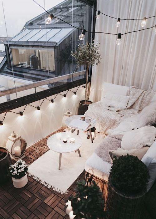 terrazzo piccolo angolo relax
