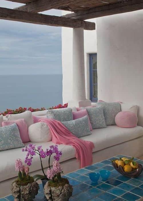 terrazzo piccolo divani