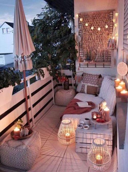 terrazzo piccolo illuminazione