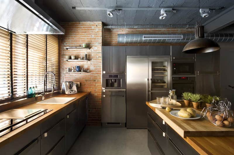 tende cucina industriale